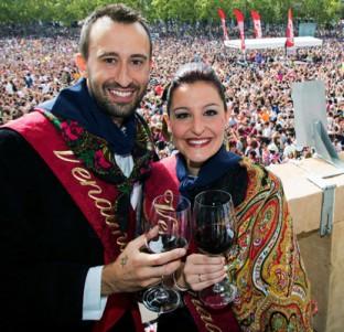 Eva Rodríguez y David José Fernández, Vendimiadores 2014