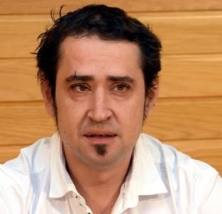 Kiko Garrido, secretario general de Podemos La Rioja