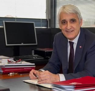 José Arnáez, candidato a rector de la UR