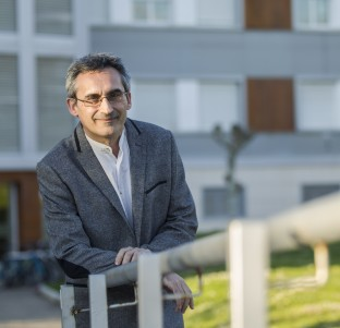 Julio Rubio, candidato a rector de la UR