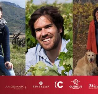 Barbara Palacios (Barbarot Wines), Bryan MacRobert (Laventura Wines) y Sandra Bravo (Sierra de Toloño)
